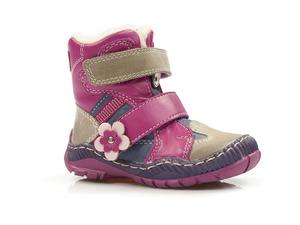 Buty damskie trzewiki dziewczęce ocieplane Mido Noster 282