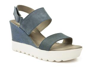 Buty damskie sandały platformy Lemar 40001 p
