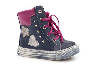 Buty damskie trzewiki dziewczęce ocieplane Mido Noster 250/350