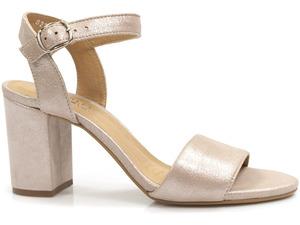 Buty damskie sandały na obcasie Eksbut 39-5597