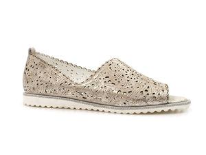 Buty damskie ażurowe lordsy sandały Venezia 250034