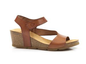 Buty damskie sandały na niższym koturnie Yokono CADIZ 098