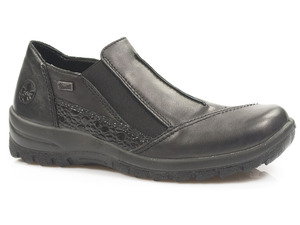 Buty damskie półbuty z membraną Rieker Tex L7178-00