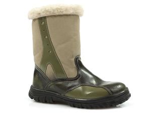Buty damskie kozaczki dziewczęce Łukbut 307
