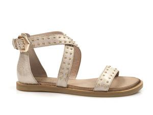 Buty damskie sandały płaskie Carinii B4646