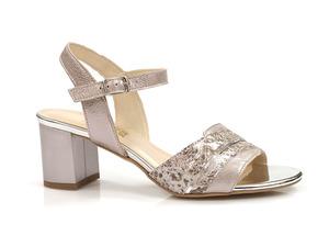Buty damskie sandały na słupku Gamis 3940