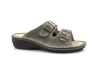 Buty damskie obuwie zdrowotne klapki OrtoMed 3718