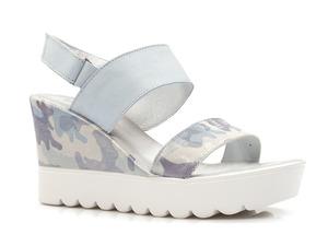 Buty damskie sandały platformy Lemar 40001