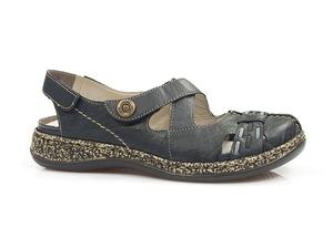 Buty damskie sandały damskie, półbuty letnie Rieker 46377-14