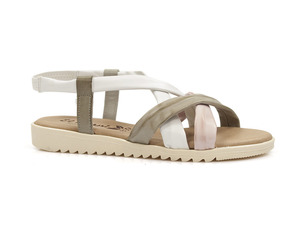 Buty damskie wielokolorowe sandały El Pimpi 1001