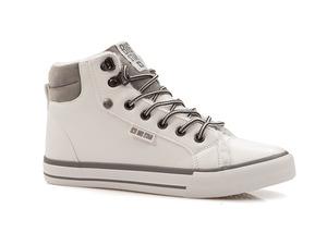 Buty damskie trampki damskie z ekoskóry i kożuszkiem Big Star BB274004