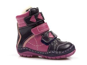 Buty damskie trzewiki dziewczęce  ocieplane Mido Noster 285
