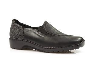 Buty damskie półbuty wsuwane Rieker L6064-03
