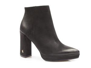 Buty damskie botki na wyższym obcasie Carinii b4538