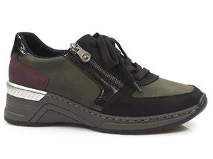 Buty damskie półbuty sneakersy Rieker N4332-00