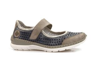 Buty damskie letnie półbuty sandały Rieker L32B5-42