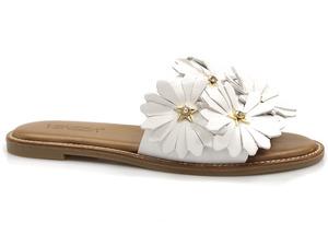 Buty damskie klapki z kwiatami Venezia 285630