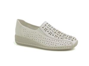 Buty damskie półbuty wsuwane Rieker 44355