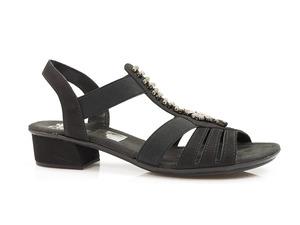 Buty damskie sandały Rieker V6206-00