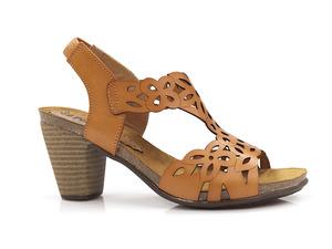 Buty damskie sandały na obcasie EL PIMPI 7053