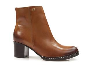 Buty damskie botki krótkie na klocku Baldaccini 900800