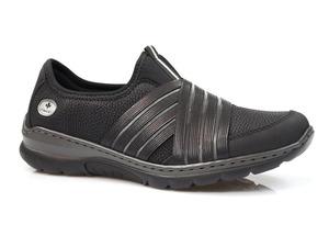 Buty damskie półbuty wsuwane Rieker L32T0