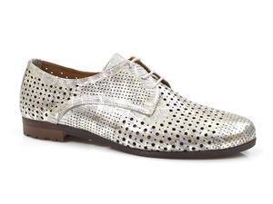 Buty damskie ażurowe półbuty Venezia 21906