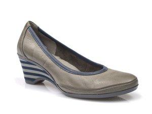 Buty damskie półbuty na koturnie Lemar 10030