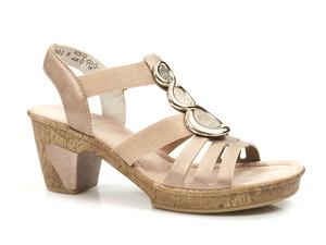 Buty damskie sandały Rieker 69752-31