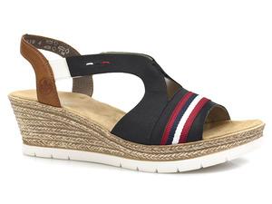 Buty damskie sandały Rieker 619S6-14