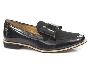 Buty damskie lakierowane mokasyny Maciejka 04099-01