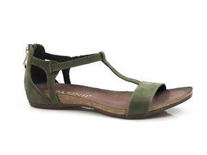 Buty damskie welurowe sandały Carinii b3779