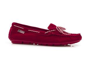 Buty damskie miękkie mokasyny Nessi 18307