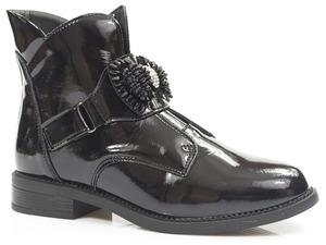 Buty damskie lakierowane botki Filippo DBT3193