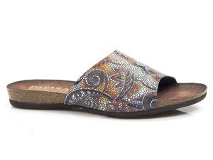 Buty damskie klapki profilowane Verano 491