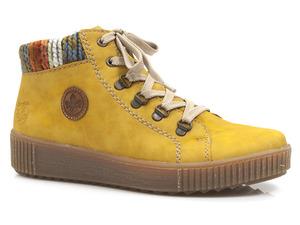 Buty damskie botki trzewiki Rieker M6411-69