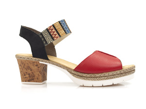 Buty damskie sandały Rieker V2932-33