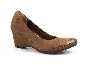 Buty damskie półbuty na niskim koturnie Lemar 10028