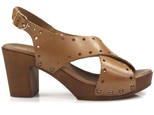 Buty damskie sandały drewniaki Lemar 40170