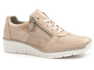 Buty damskie półbuty sneakersy Rieker 53714-31