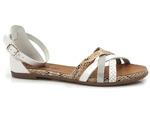 sandały rzymianki Verano 14204 - kolor: biały