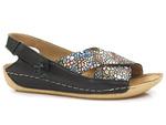 komfortowe sandały Maciejka 00994 - kolor: czarny