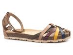 sandały gladiatorki Yokono Villa 011 - kolor: multi sabia