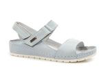 sandały soft Lemar 50052 - kolor: błękit