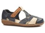 sandały  Rieker M0963-14 - kolor: niebieski