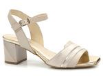 eleganckie sandały Gamis 5077 - kolor: beż