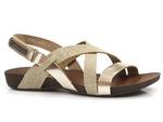 sandały Lemar 40032 - kolor: złoty brokat