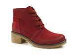 botki Gamis 3154 - kolor: czerwony nubuk