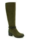 kozaki Carinii B4173 - kolor: zielony