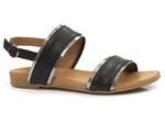 eleganckie sandały Venezia 030020684 - kolor: czarny
